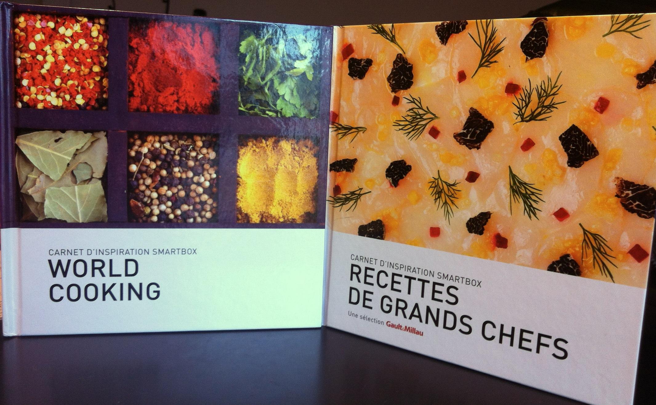 Smartbox euphorie et les carnets d inspiration c line - Livre cuisine chef etoile ...