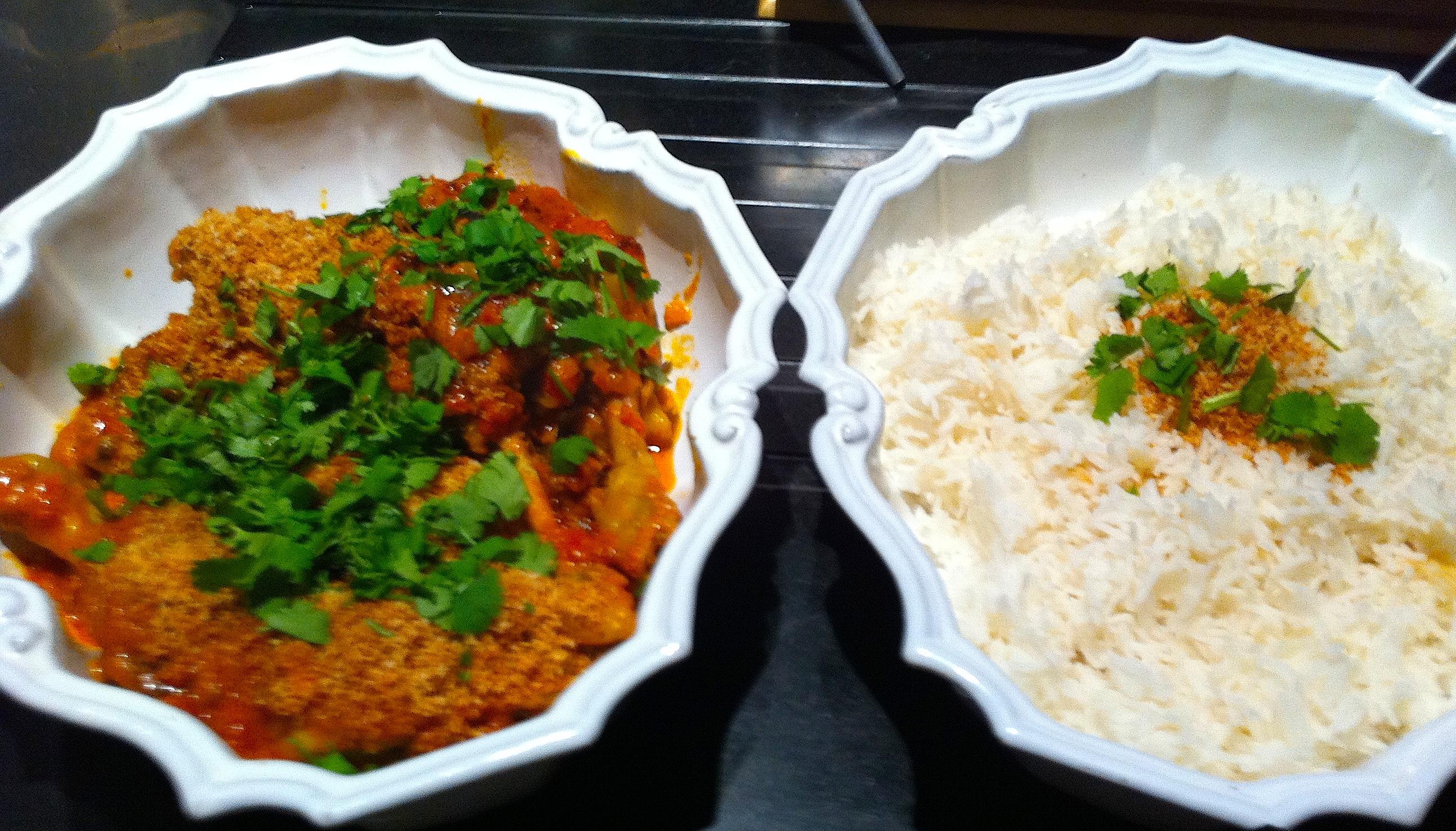 recette du monde poulet tha au curry et lait de coco c line m c line aime. Black Bedroom Furniture Sets. Home Design Ideas