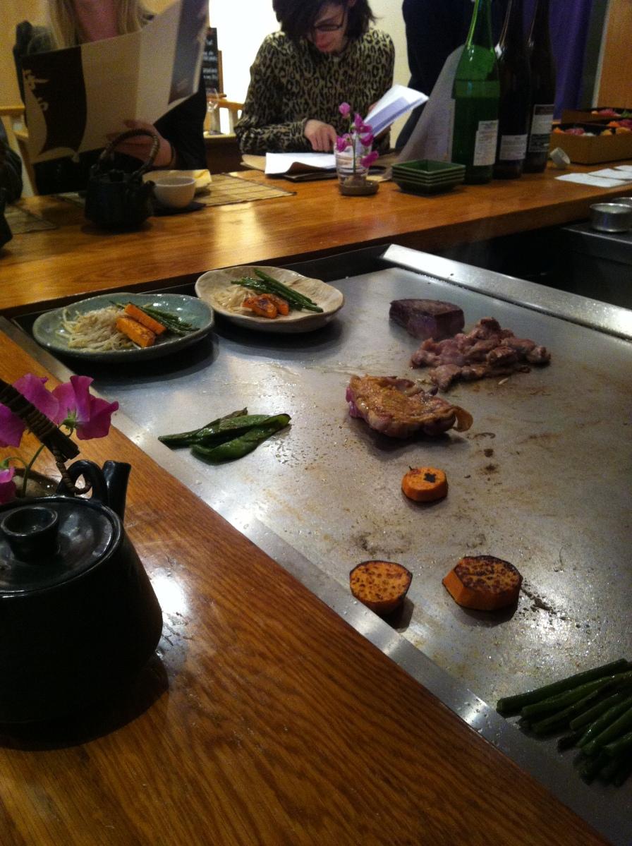 Azabu restaurant japon japonais odeon paris gastronomie - Restaurant japonais paris cuisine devant vous ...