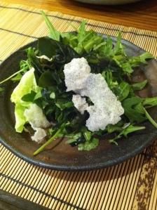 Azabu restaurant japon japonais odeon paris gastronomie teppanyaki salade