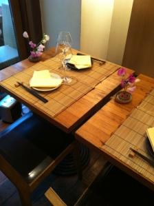 Azabu restaurant japon japonais odeon paris gastronomie teppanyaki salle