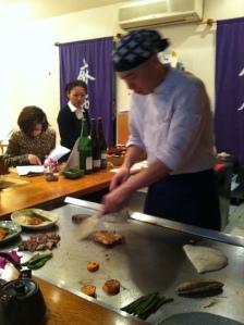 Azabu restaurant japon japonais odeon paris gastronomie teppanyaki