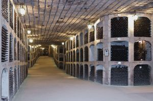 Caves cave Milestii Mici Moldavie vin wine bottle alcool visite