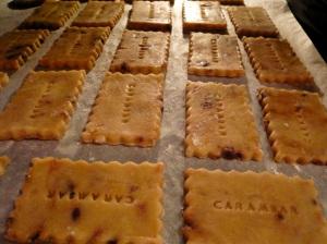 Recette sable sables carambar gouter the tea bakery sucre caramel cacao enfance