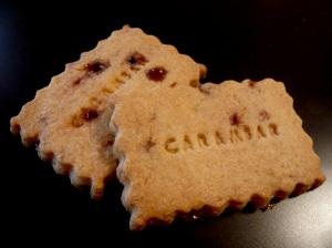 Recette sable sables carambar gouter the tea bakery sucre caramel cacao