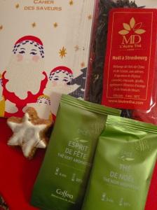 Thé tea box boite thevert noel rouge thenoir décembre coffeau canelle gateau strasbourg