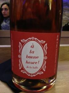 Agape cave degustation vin alcool mazarine odeon paris bouteille bonne heure bulle fées gestes