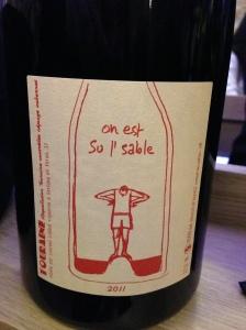 Agape cave degustation vin alcool mazarine odeon paris bouteille sable touraine