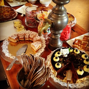 Cazaudehore brunch dessert saint germain buffet paris brest chocolat poire