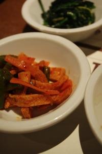 Jantchi banchan restaurant corée coréen cuisine paris pyramides thérèse plat spécialité tofu