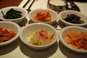 Jantchi banchan restaurant corée coréen cuisine paris pyramides thérèse plat spécialité