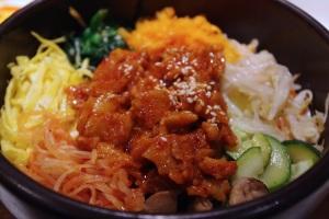 Jantchi riz bol restaurant corée coréen cuisine paris pyramides thérèse plat spécialité bibimbap