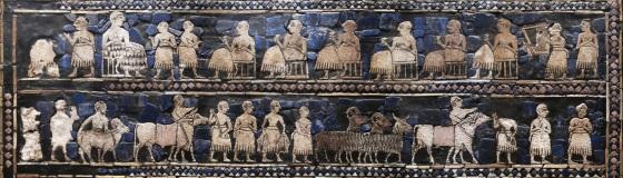 Détail de l'étendard d'Ur (vers -2700)