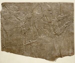 louvre roi assurnasirpal assyrie mesopotamie histoire palais alimentation