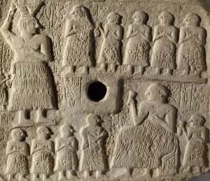 Mesopotamie protohistire histoire ur lagash banquet louvre alimentation fete archaique dynastie