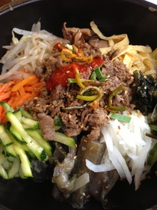 Restaurant coréen corée paris saint anne asshi bibimbap gastronomie cuisine