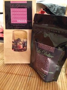 Labonne box bonne box gourmet surprises gout gourmandises chocolat produits huile caramel caspienne infusion fruits pistaches