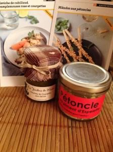 Labonne box bonne box gourmet surprises gout gourmandises chocolat produits huile caramel chutney petoncles espelette marie