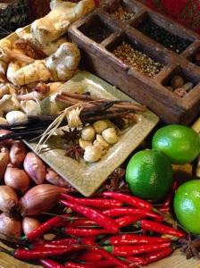 Bali djakarta restaurant indonésie asie asiatique paris halles cuisine gastronomie recettes plats ethniques typiques epices