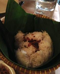 Bali djakarta restaurant indonésie asie asiatique paris halles cuisine gastronomie recettes plats ethniques typiques riz coco