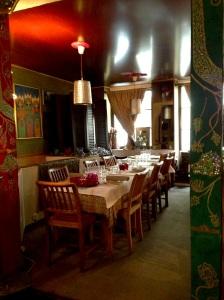 Bali djakarta restaurant indonésie asie asiatique paris halles cuisine gastronomie recettes plats ethniques typiques salle