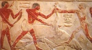 Boucherie Egypte Antique ancienne histoire alimentation nourriture aliments vache viande lait rituel offrande