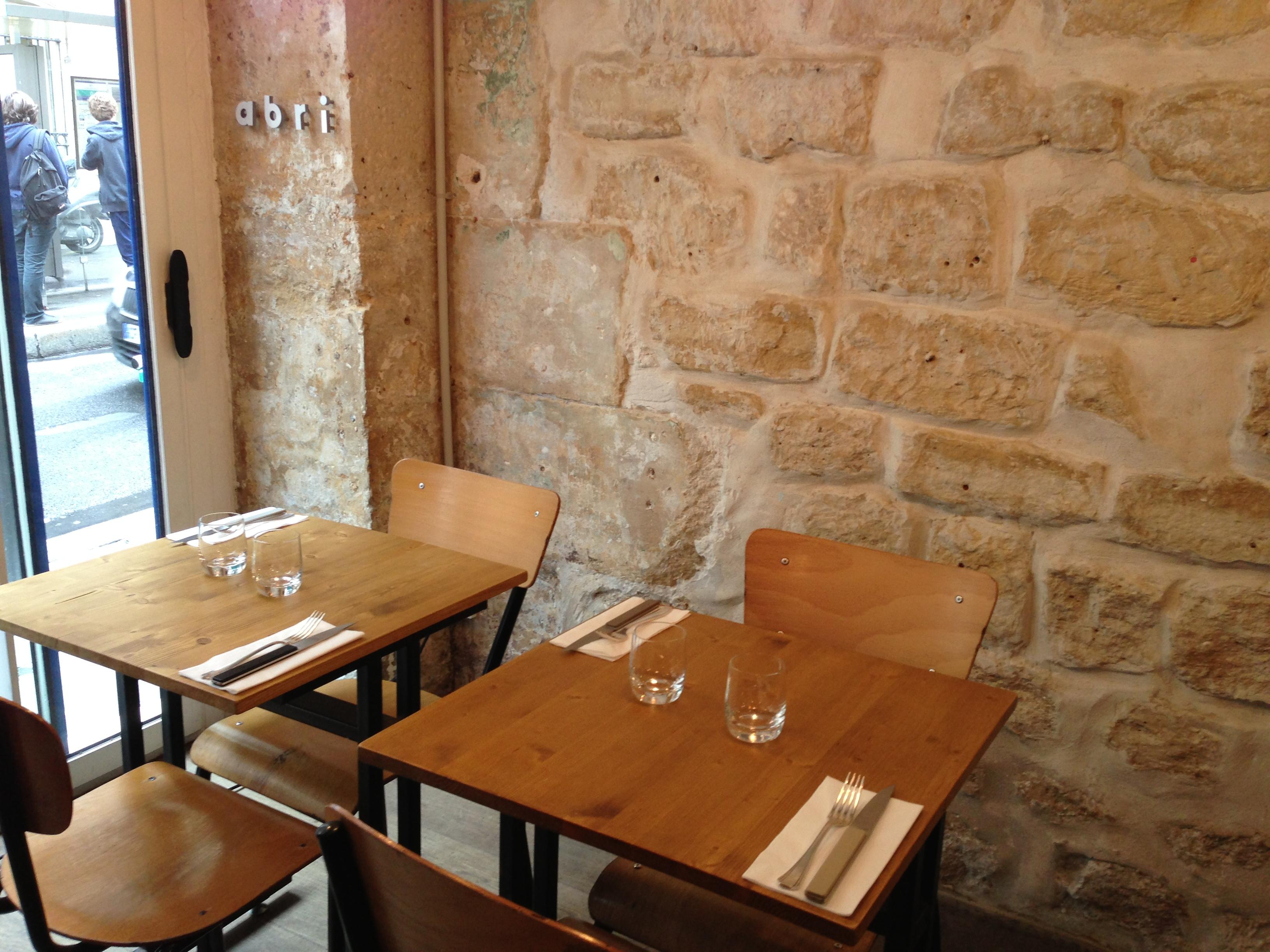 restaurant paris abri l excellence dans l assiette c line m c line aime. Black Bedroom Furniture Sets. Home Design Ideas