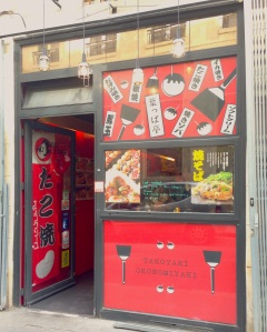 Happa tei restaurant japonais paris sainte anne takoyaki okonomiyaki crepes japon poulpe populaire cuisine manger