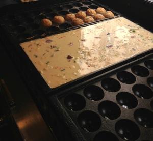 Happa tei restaurant japonais paris sainte anne takoyaki okonomiyaki crepes japon poulpe populaire cuisine moule