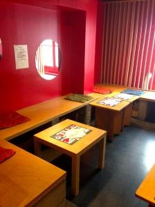 Happa tei restaurant japonais paris sainte anne takoyaki okonomiyaki crepes japon poulpe populaire cuisine salle