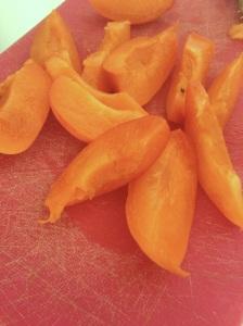 Recette inratable cake abricots gateau été gouter facile rapide pas cher fruits jaunes abricot