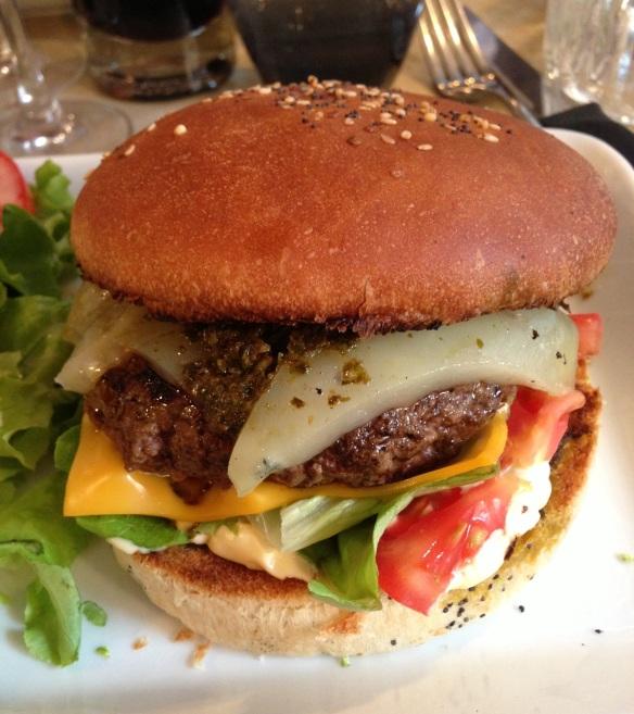 Restaurant Panfoulia burger burgers hamburger cocktails bar marais carte prix soirée argentin