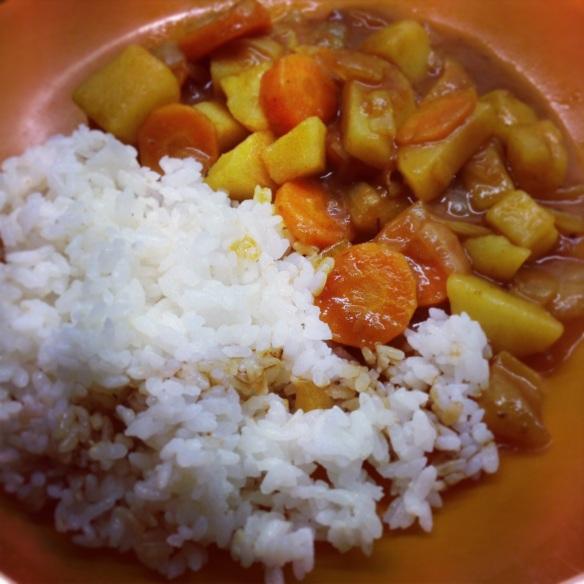 Recette curry japonais japon cuisine japonaise golden cury riz