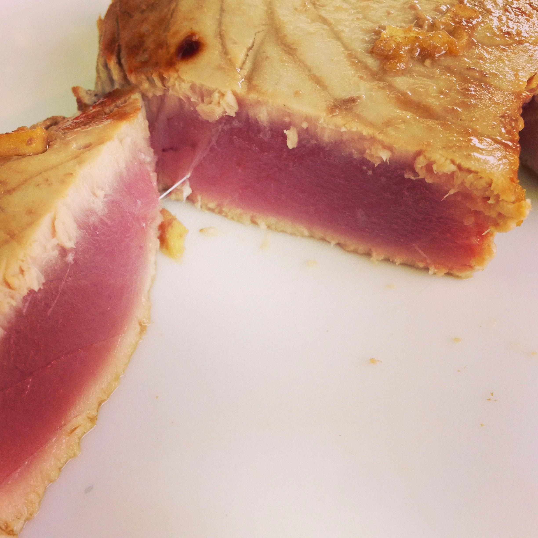 Recette tataki thon saint jean luz japon japonaise préparation cru cuit  aller retour gingembre