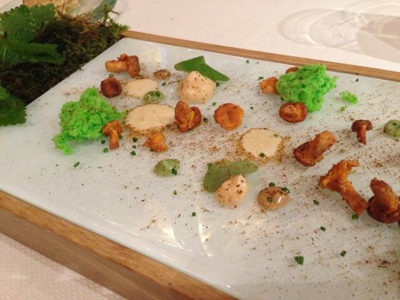 Yoann Conte Annecy jardins marc veyrat nouvelle maison gastronomie étoiles michelin menu repas annecy champignons