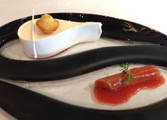 Yoann Conte Annecy jardins marc veyrat nouvelle maison gastronomie étoiles michelin menu repas fraise repas