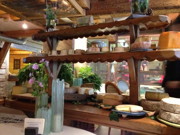 Yoann Conte Annecy jardins marc veyrat nouvelle maison gastronomie étoiles michelin menu repas fromages
