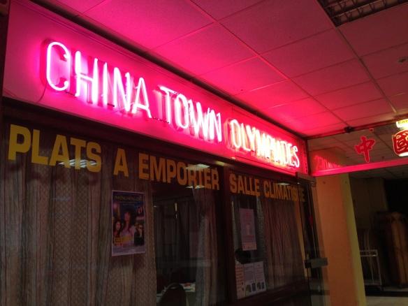 Chinatown olympiades restaurant chinois ivry paris specialités tous au restaurant neon