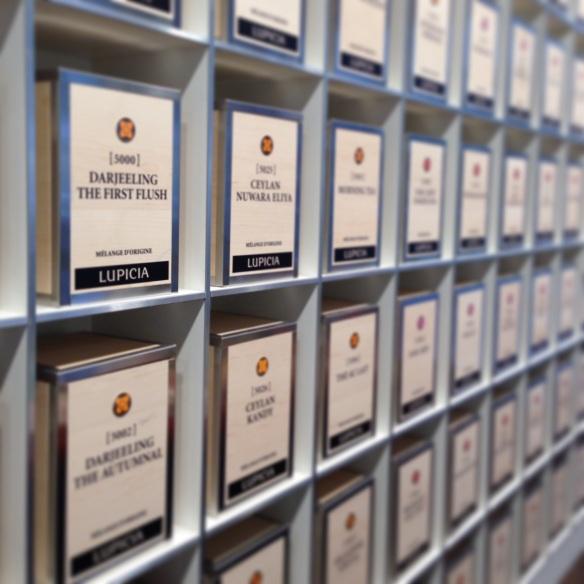 Lupicia maison thé japon japonaise paris rue bonnaparte specialiste thés vert ouverture boutique dégustation boites conditionnement