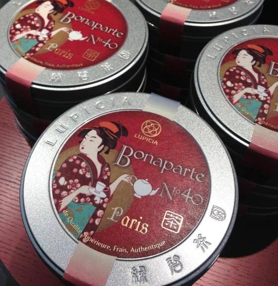 Lupicia maison thé japon japonaise paris rue bonnaparte specialiste thés vert ouverture boutique dégustation edition speciale