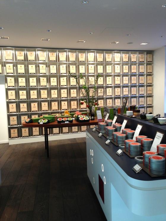 Lupicia maison thé japon japonaise paris rue bonnaparte specialiste thés vert ouverture boutique decor