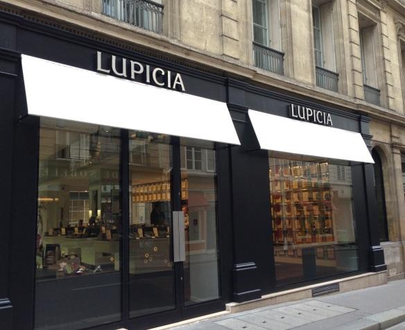 Lupicia maison thé japon japonaise paris rue bonnaparte specialiste thés vert ouverture boutique