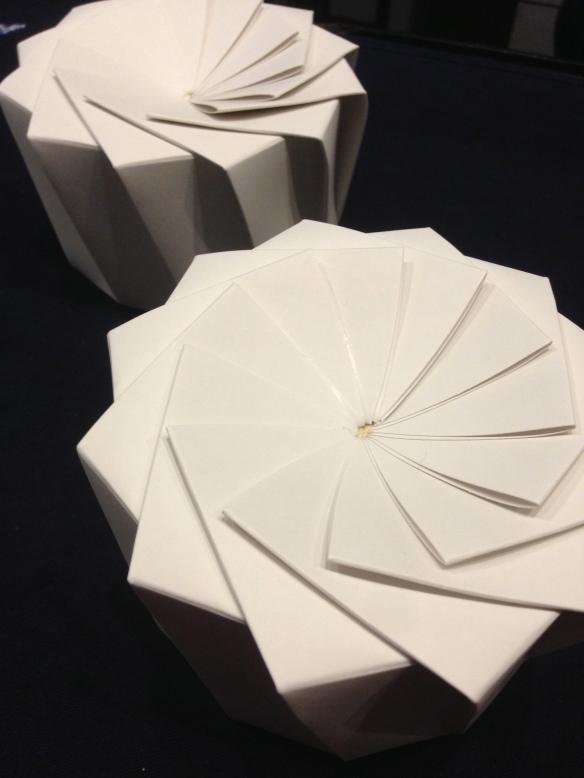 Patisserie ciel rue monge angel cake chiffons mode japon japonaise paris origami