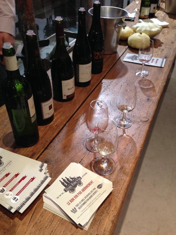 Cave trois fois vin box vins abonnement republique rouge blanc nazareth paris