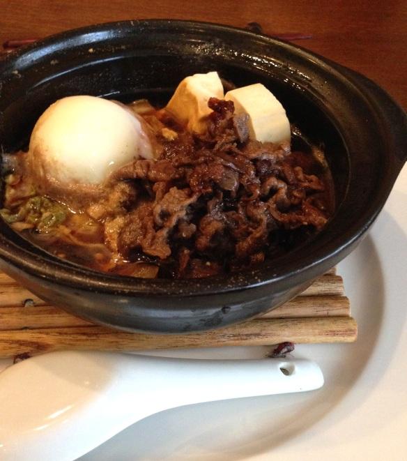 Kiku restaurant japonais menu entrée plat dessert japon paris richer sukiyaki specialité boeuf