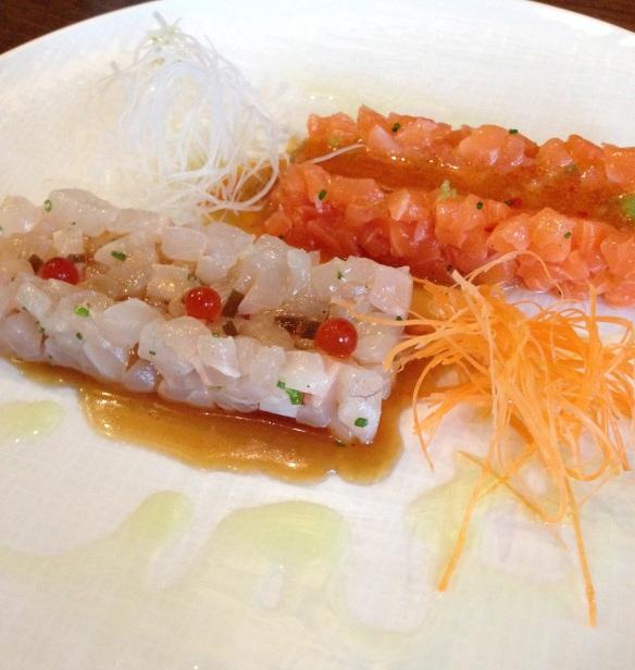 Kiku restaurant japonais menu entrée plat dessert japon paris richer tartare saumon dorade