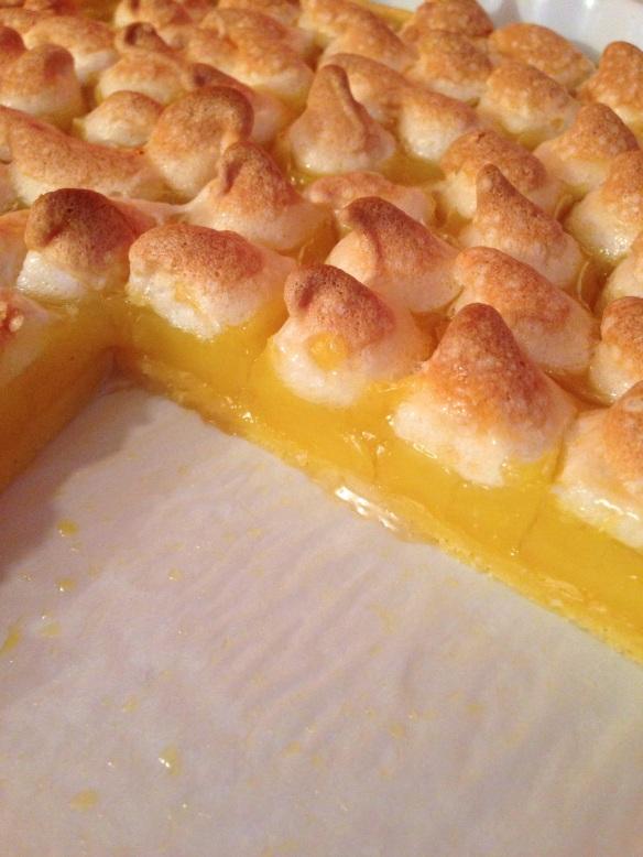 Tarte citron meringue italienne maizena facile rapide recette gouter pate brisée gourmandise