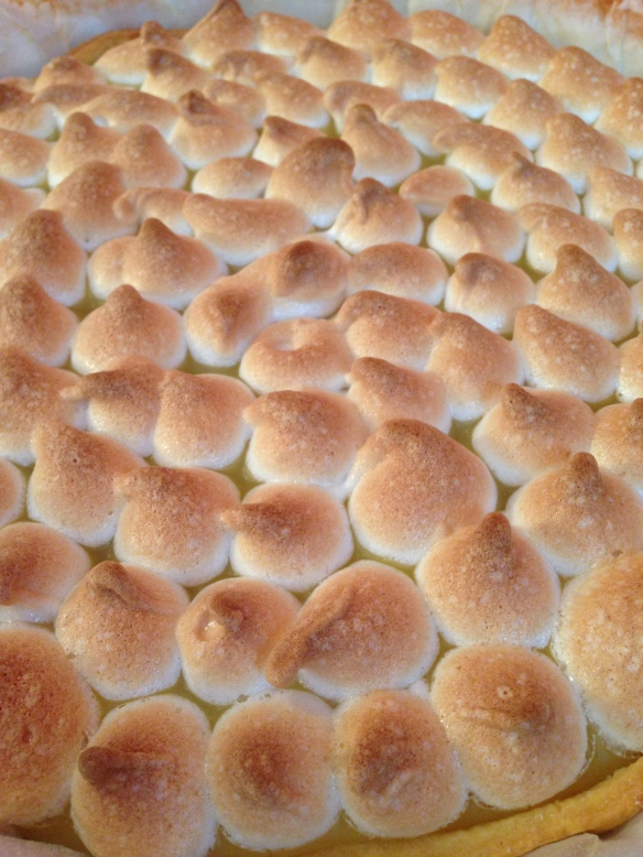Tarte citron meringue italienne maizena facile rapide recette gouter pate brisée sucre