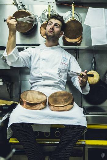 La casserole restaurant paris enzo duchesne chef jeune savoie bistrot français cuisine gastronomique nouveau joue de la casserole