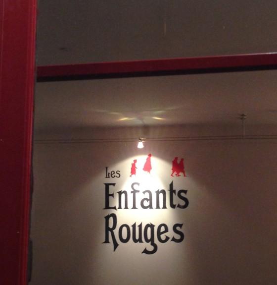 Restaurant les enfants rouges republique marche vins chef japonais Daï Shinozuka adresse horaire ouverture reservation salle